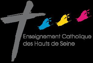 Enseignement Catholique des Hauts de Seine Logo